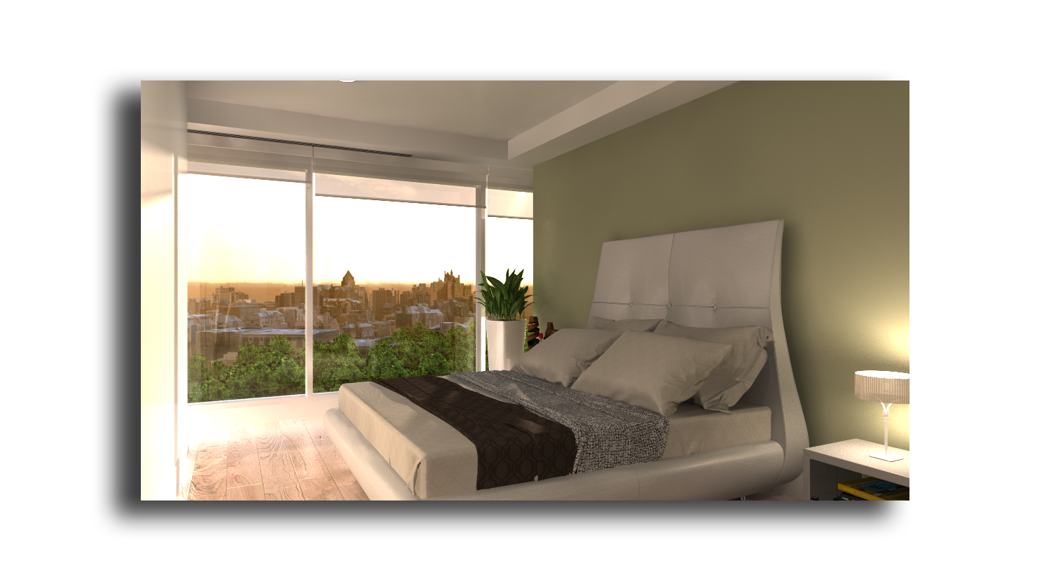 secondary bedroom 3d