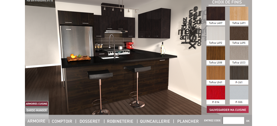 Le studio d 39 animation 3d gon 39 interactive de montr al for Cuisine 3d simulation